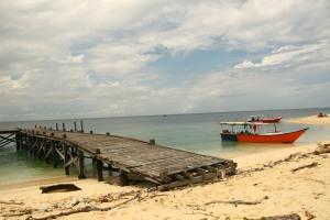 Dermaga Pulau Koding gareng keke