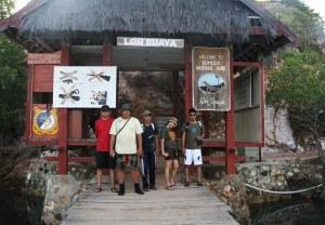 Loh Buaya di pulau Rinca