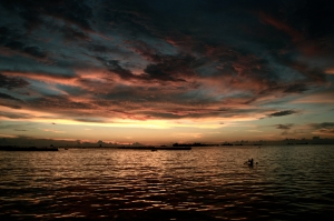 losari sunset
