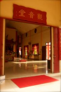 Kelenteng yang dibangun khusus untuk menyembah Dewi Kwan Im