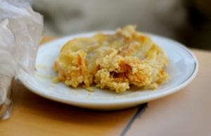 Pisang Goreng Pontianak terkenal dengan rasa manis namun tidak lembek