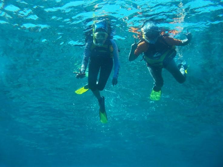 Snorkling di lautan Banda