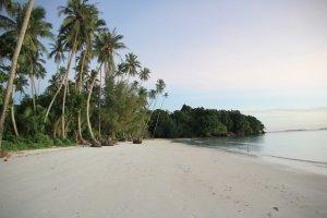 Pantai Ngurbloat pasir panjang